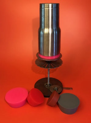powder coating staintless steel tumbler yeti cup stand