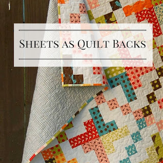 Meadow Mist Designs: Flat Sheets as Quilt Backings : quilt backing - Adamdwight.com
