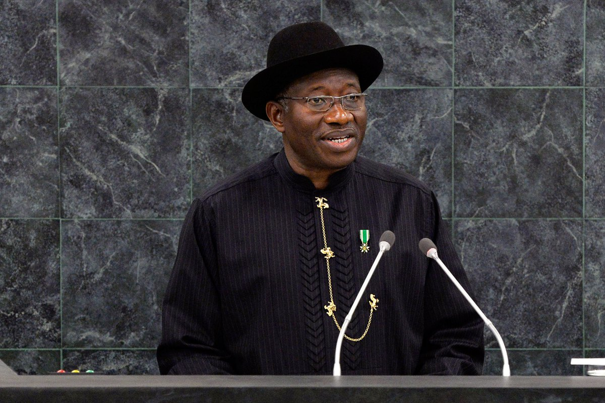 Goodluck Jonathan - I convey the CONFAB for the interest of Nigeria