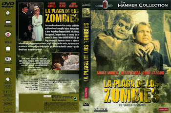 Carátula dvd: La plaga de los zombies (1966) (The Plague of the Zombies)