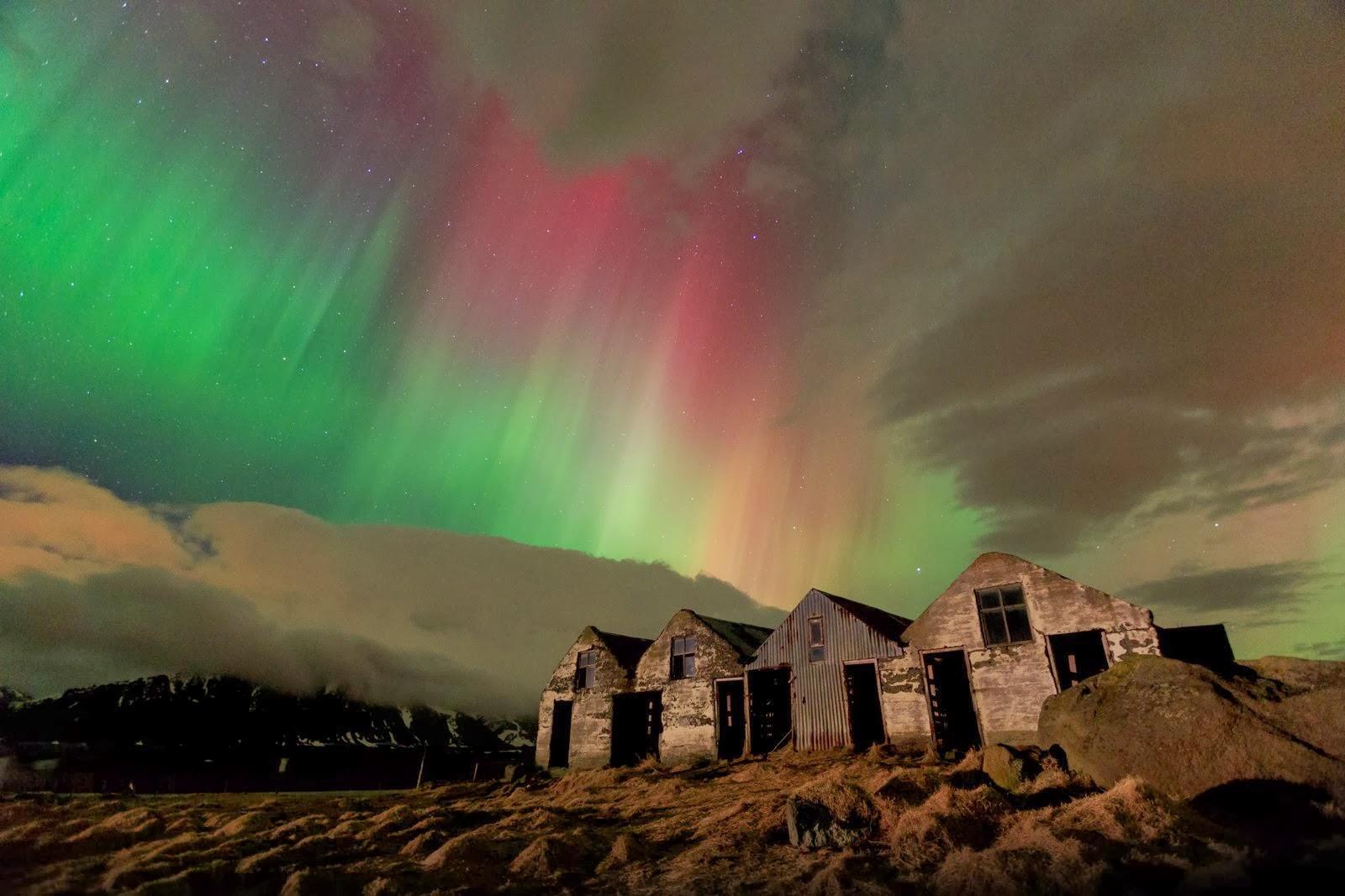 viaje a islandia aurora boreal
