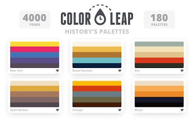 Color Leap historia de las paletas de colores