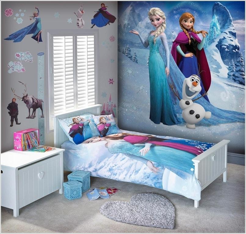 30 Contoh Dekorasi R Tidur Anak Perempuan Bertema Frozen Bilik Desainrumahid