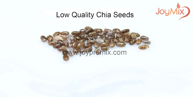 Low Quality Chia Seeds