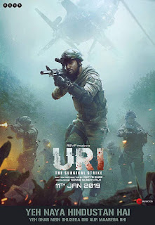 Uri The Surgical Strike 2019 Download CAMRip