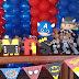 Festa Infantil com tema Super-Heróis!