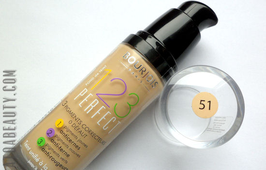 Bourjois, 123 Perfect Foundation