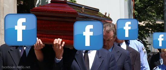 contacto de legado en Facebook inicio