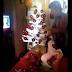 Vídeo de mulher quebrando árvore de natal viraliza