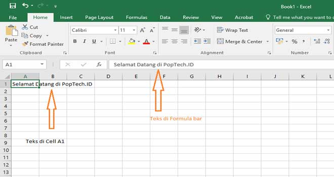 tutorial ms excel mengetik dan memformat data