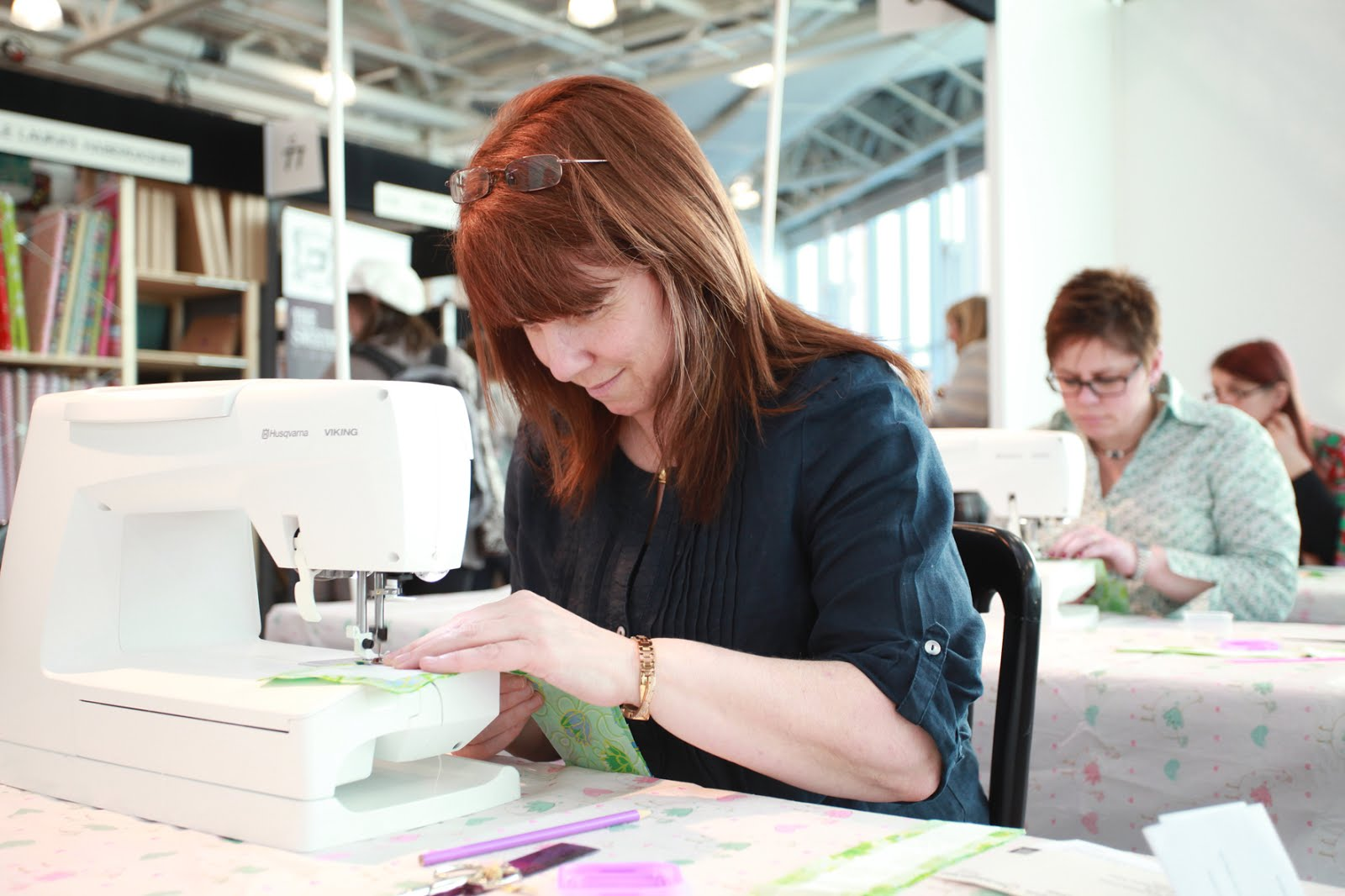 What I learned at the Knitting and Stitching Show
