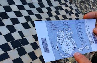 jardim dos taros mapa ticket - Jardim do Tarô de Niki de Saint-Phalle