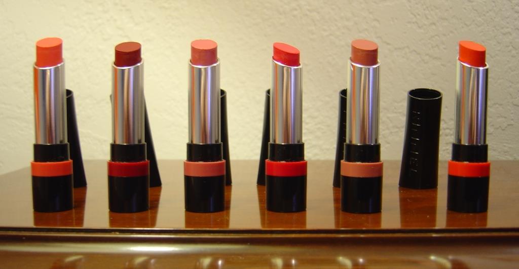 six of Rimmel The Only 1 Lipsticks.jpeg