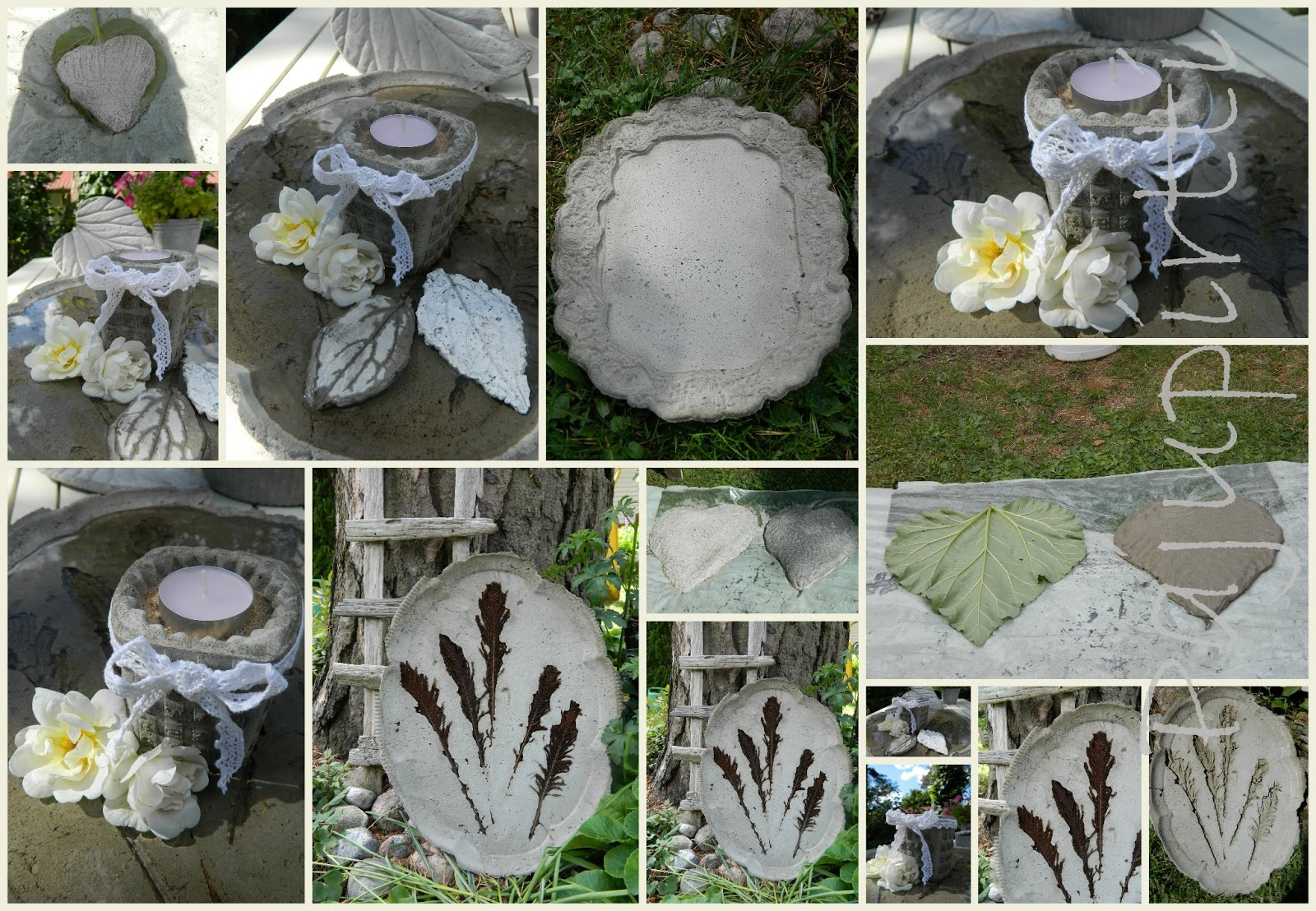 Luomuksia betonista savesta