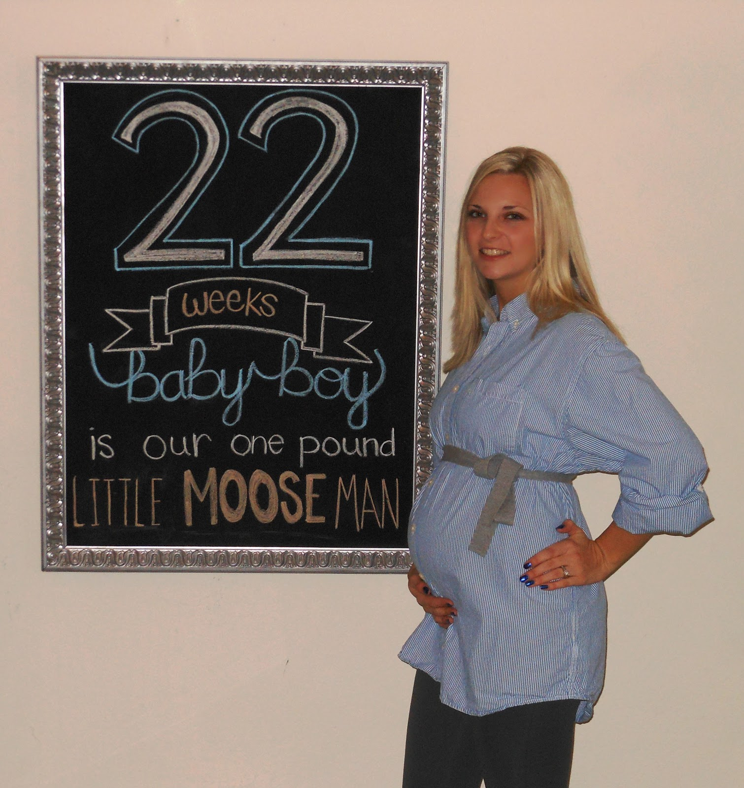Pregnancy: 22 Weeks ... Almost Happy New Year!