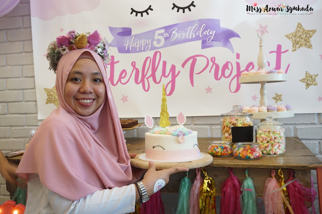The Butterfly Project Malaysia turns 5 | Unicorn Birthday Party