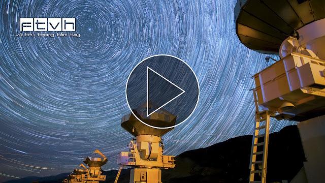 Vũ điệu của kẻ tìm kiếm SETI giữa nền trời đầy sao