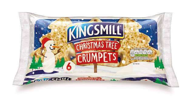 How to host an AWESOME North Pole Christmas Breakfast including tableware from TK Maxx, food ideas and table printables - Kingsmill crumpets