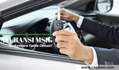Asuransi Kendaraan MSIG , Berkendara Tanpa Cemas