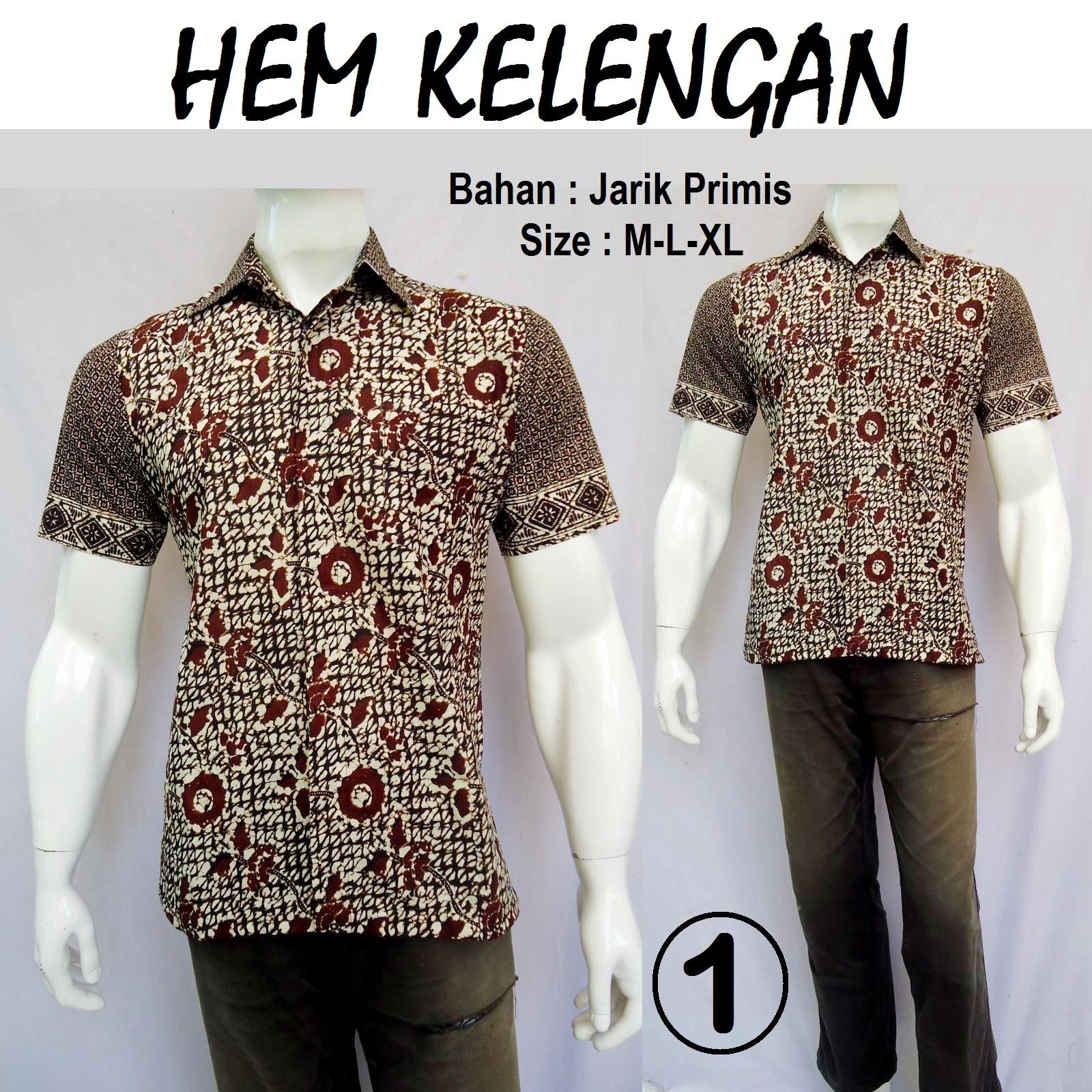Produksi dan menjual grosireceran baju batik jadi KEMEJA BATIK