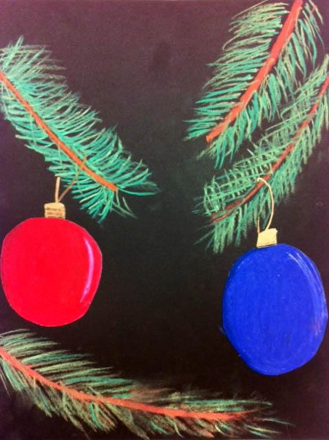 Artisan Des Arts Shaded Christmas Balls Grade 5 6