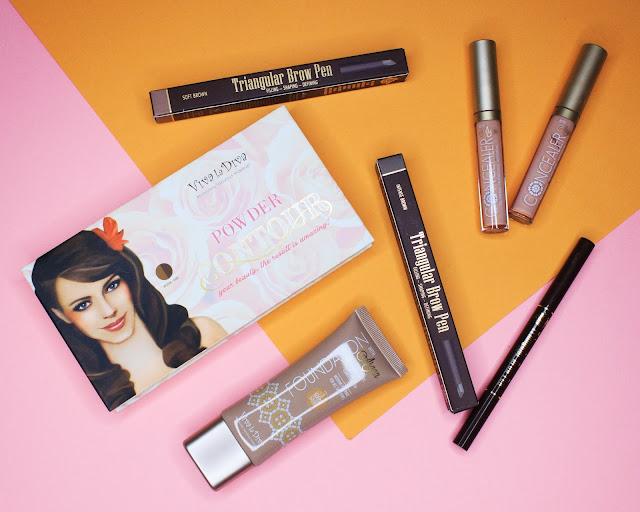 Viva la Diva makeup review + swatches