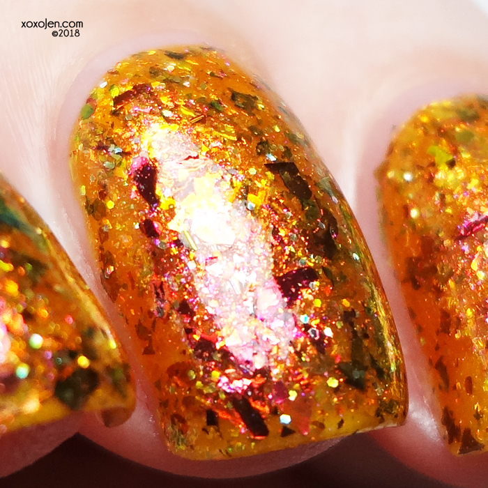 xoxoJen's swatch of Lollipop Posse Dying to Light This Fire
