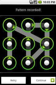 Membuka kunci kombinasi android terblokir
