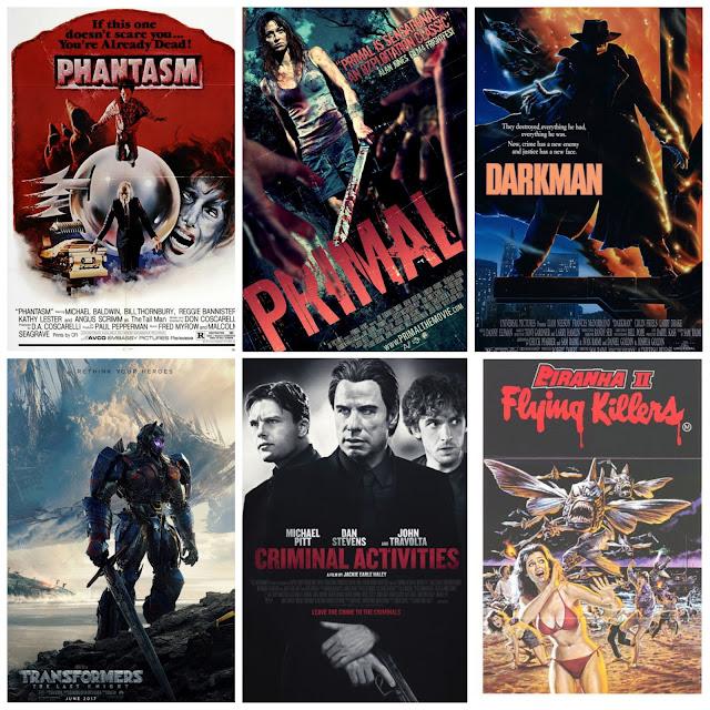 July 2017 Films