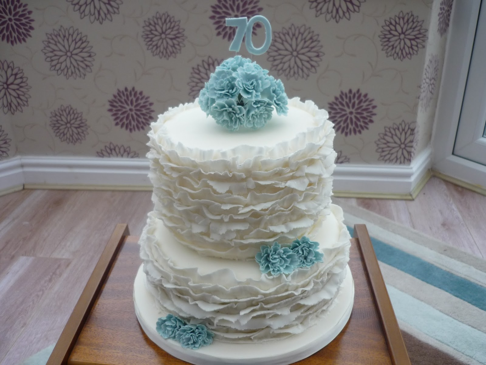 Eat Cakes By Susan: 70th Wedding Anniversary