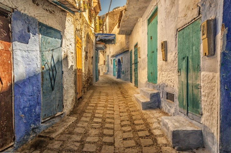 17. Chefchaouen, Morocco - 29 Most Romantic Alleys to Hike