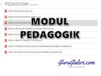 Modul Materi Pedagogik penunjang PLPG Tahun 2016 Lengkap
