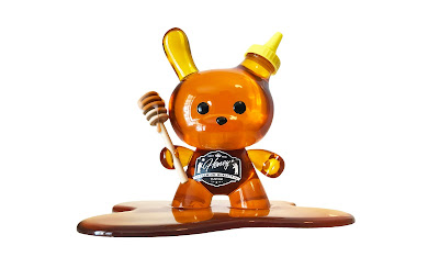 "Honey Bear Dunny 8"" Custom Resin Figure by Sket One"