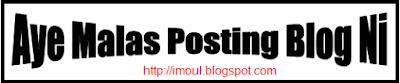 Kegiatan Belajar Berbagi Ketika Malas Posting Blog