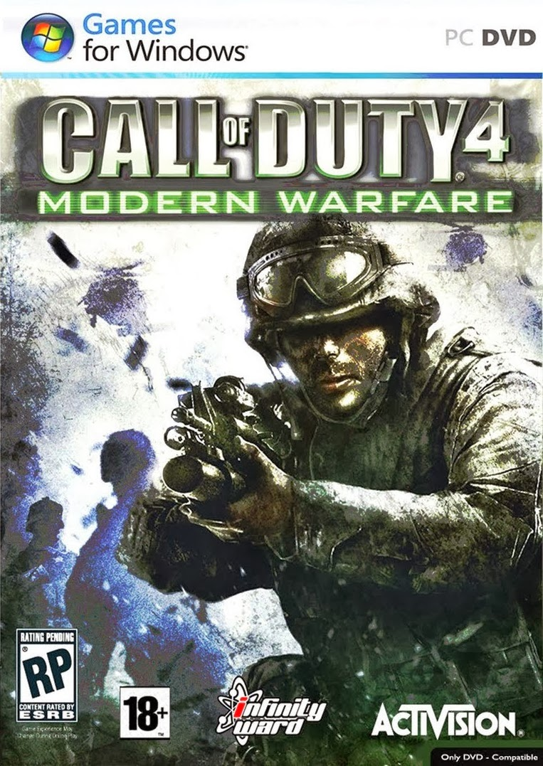Call of Duty 4: Modern Warfare Game for PC