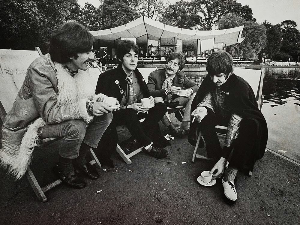 The Daily Beatle: The Serpentine, Hyde Park May 18th 1967