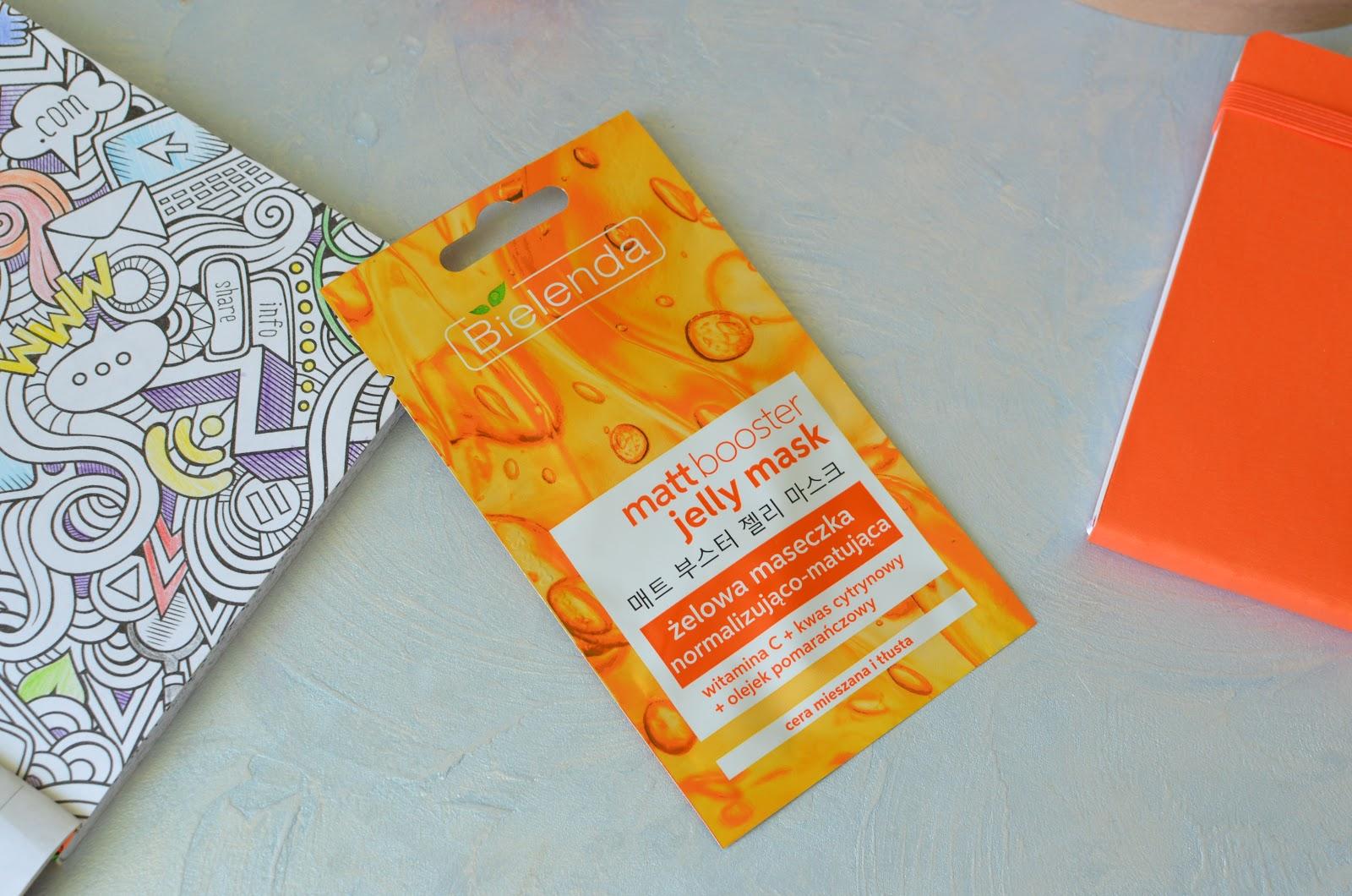 Bielenda Jelly Mask Matt Booster  Гелевая маска для комбинированной кожи