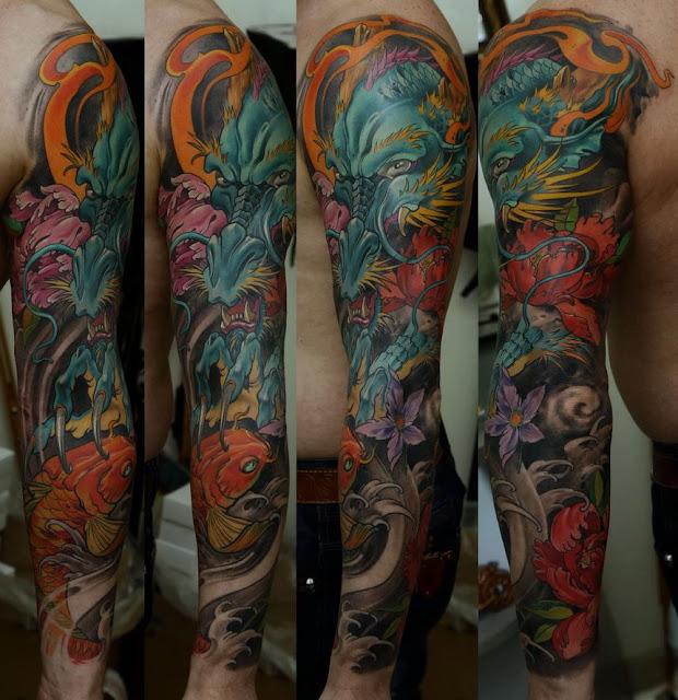 Tattoo Designs Japanese Sleeve: Sevasblog : Things I Like: Dmitriy Samohin Tattoo