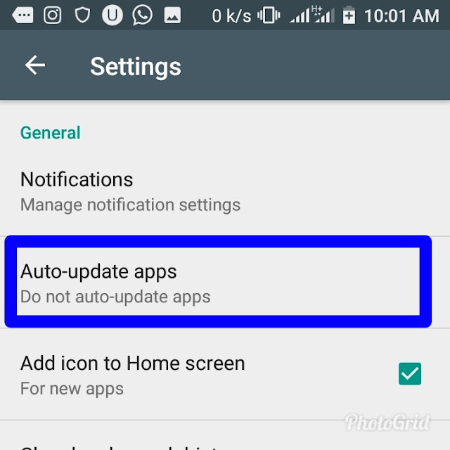 Disable Automatic App Updates On Android