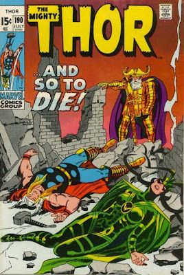Thor #190, Death of Hela