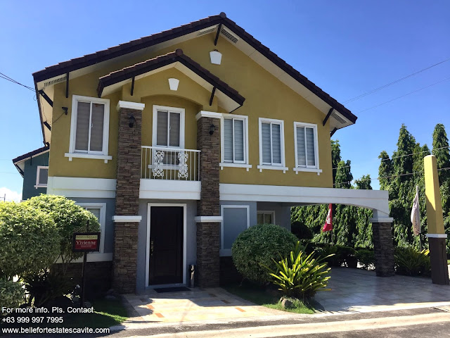 Vivienne Ready for Occupancy at Bellefort Estates Bacoor Cavite