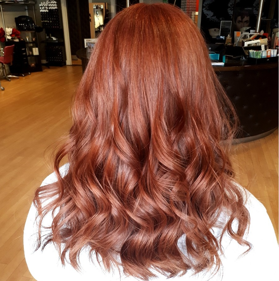 Hairdressers, Red hair, natural style ginger hair, salon red hair, Hairoscope, Northern Ireland, The Style Guide Blog