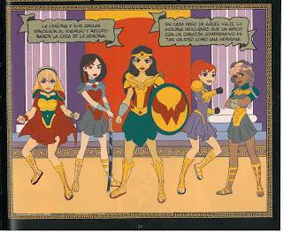 """Reseña de """"DC Super Hero Girls: Hitos y Mitos"""" de Shea Fontana y Yancey Labat [ECC Ediciones]"""