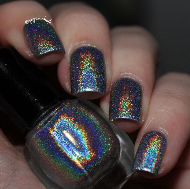 Bedlam Beauty Sally Hansen Nail Prisms Lapis Amethyst