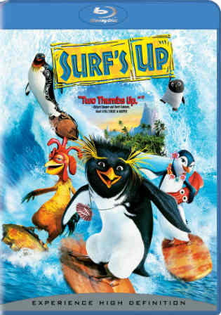 Surfs Up 2007 BluRay 600Mb Hindi Dubbed Dual Audio 720p Watch Online Full Movie Download bolly4u