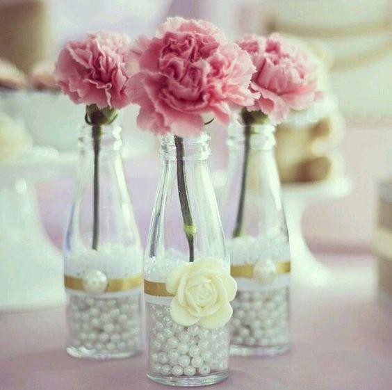 garrafas para mesas