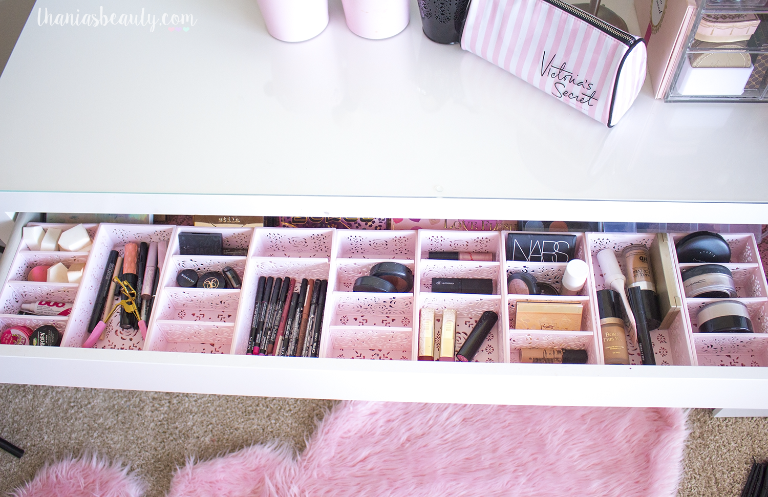 1 Makeup Organization How I Organize My Thania S Beauty