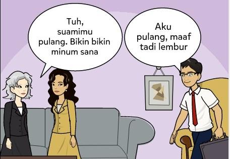 aturan tidak tertulis menantu ikut mertua
