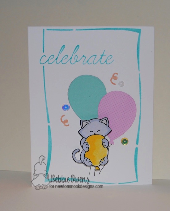 Celebrate by Debbie featuring Newton's Birthday Bash by Newton's Nook Designs, #newtonsnook