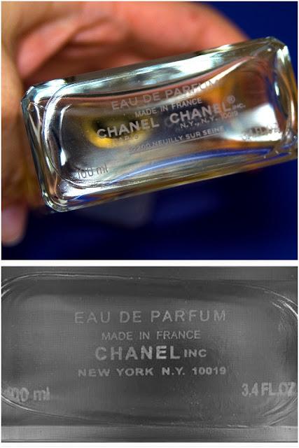 dno perfum coco chanel jak wygląda?